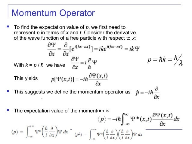 the concept of quantum mechanics and momentum An understanding of quantum mechanics is vital to all students of physics, chemistry and electrical engineering, but requires a lot of mathematical concepts, the details of which are given with great.
