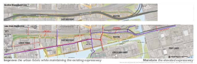 Gardiner Expressway Level  Don Valley Parkway  rdiner Ga  Gardiner Expressway  sway xpres E  Front S  t  rry S Che  Samll ...