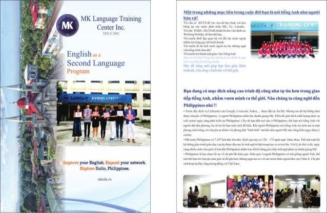 Trường Anh ngữ MK - Philippines | Brochure Tiếng Việt