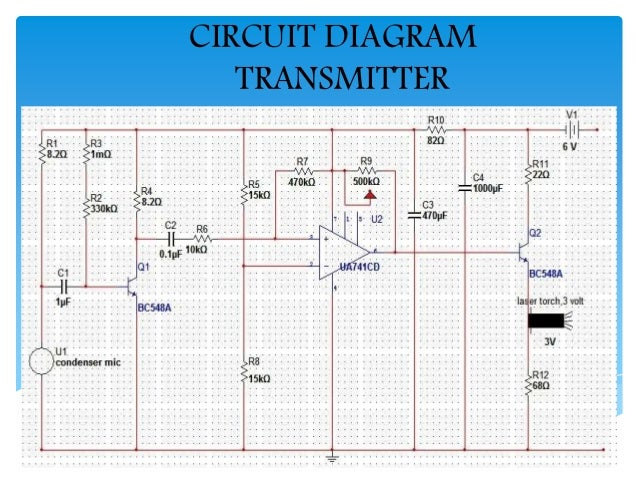 laser torch based voice communication systemLasercommunicatorcircuitdiagram #14