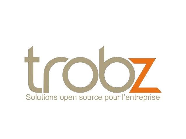 Solutions open source pour l'entreprise