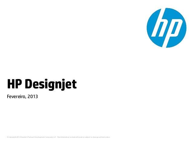 Outsourcing de Plotter de Impressão HP