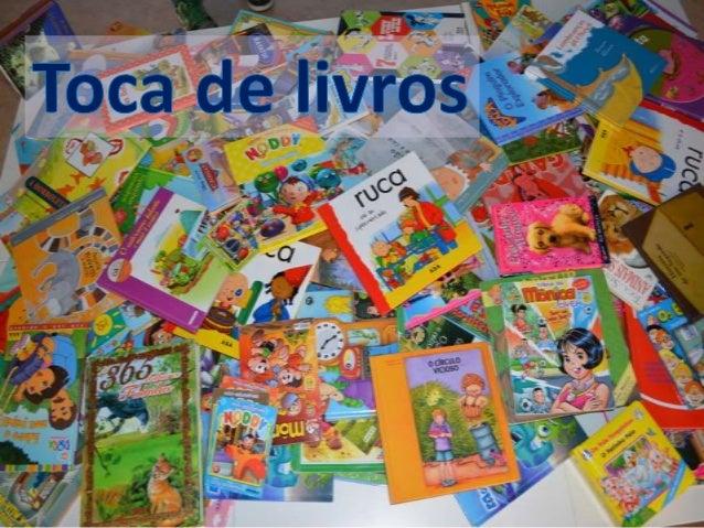 Troca de livros