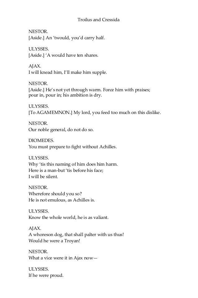 Troilus and cressida william shakespeare ebook fandeluxe Choice Image