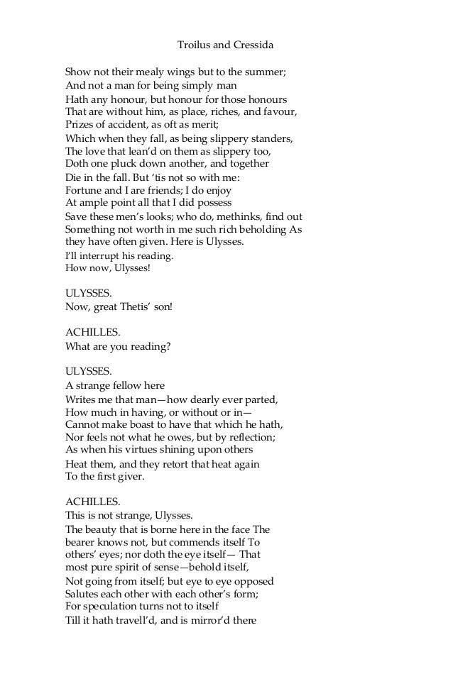 Troilus and cressida william shakespeare ebook fandeluxe Document
