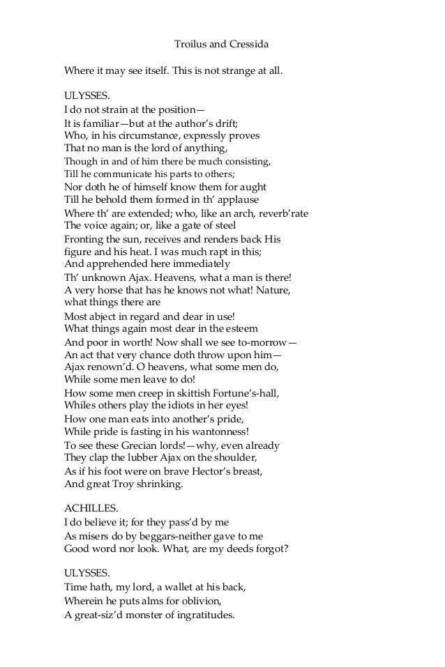 shakespeare troilus and cressida pdf