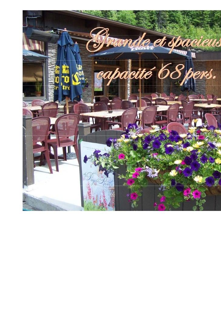 Présentations - Restaurant Trois barils