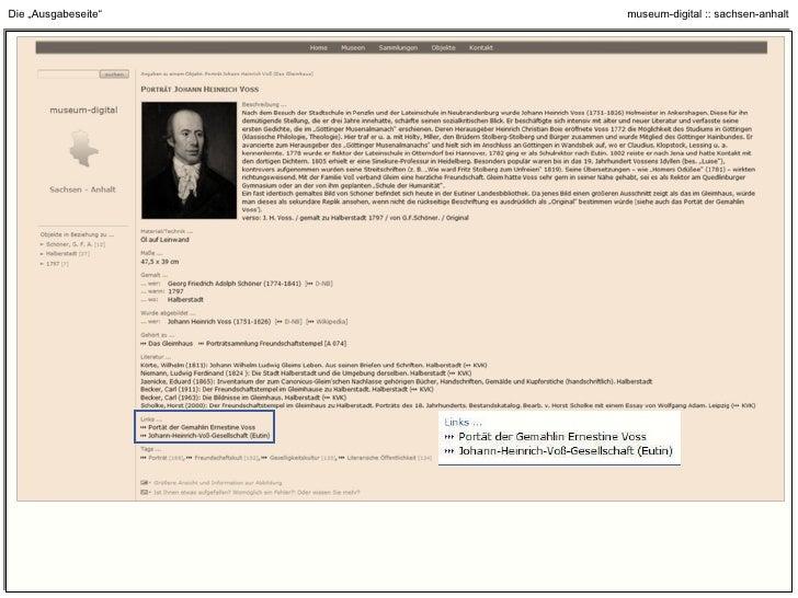 """Die """"Ausgabeseite"""" : Bibliotheksnachweise über den KVK (zu Körte, Wilhelm 1811)"""