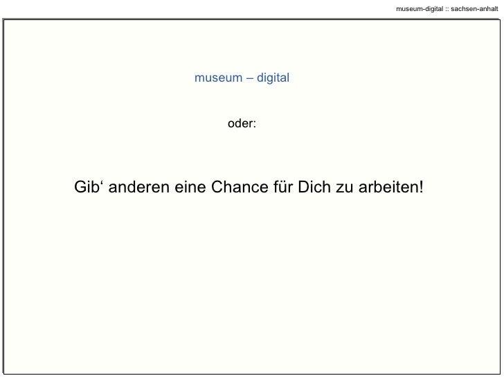 ddb …  geplante Wege … museum-digital :: sachsen-anhalt