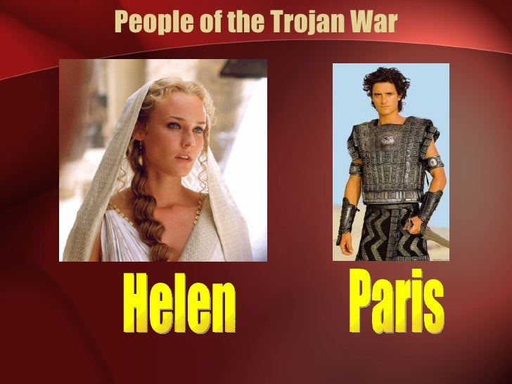 trojan war and helen The novel transpires from the time helen leaves for troy with paris, through the trojan war, and ends when hermione marries orestes hermione grows in.