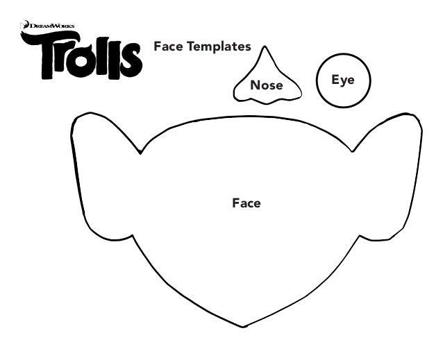 Face Templates Face Nose Eye
