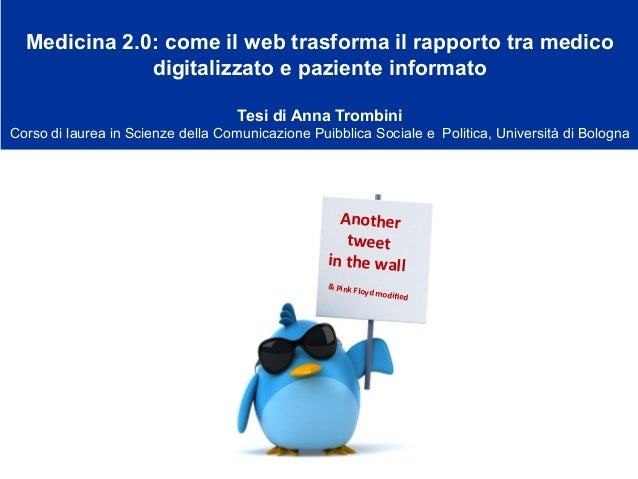 Another     tweet     in  the  wall &  Pink  Floyd  modified Medicina 2.0: come il web trasforma il rappo...