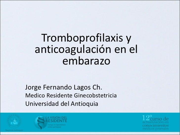 Tromboprofilaxis Slide 2