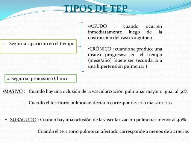 Las causas de la tromboflebitis de la arteria neumónica