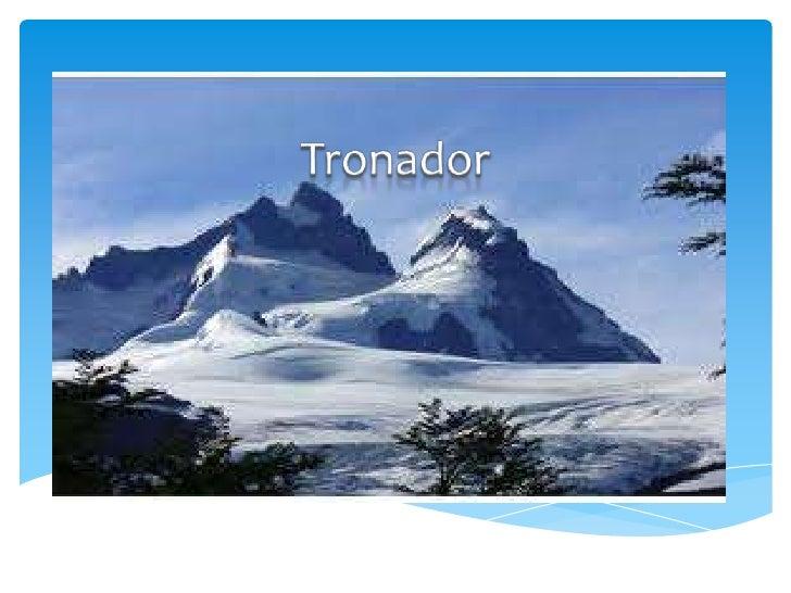 El cerro Tronador es un volcán geológicamente activo, su últimaerupción es desconocida aunque se piensa que habría ocurrid...