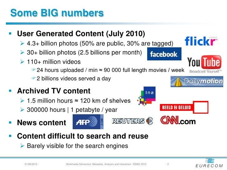 Multimedia Semantics - SSMS 2010 Slide 2