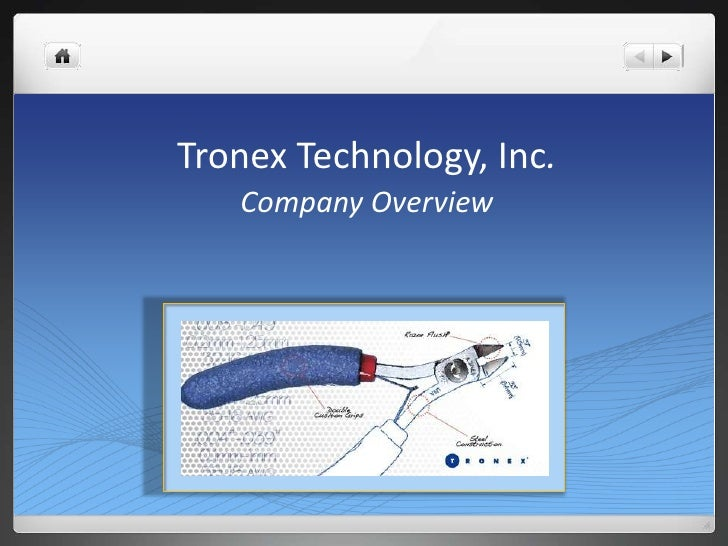 Tronex Technology, Inc.   Company Overview