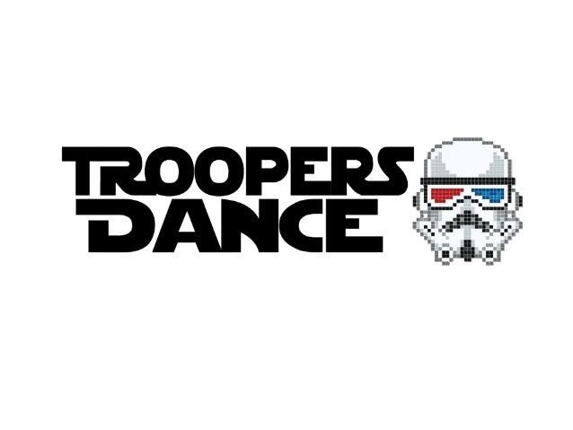 1. Kurzbeschreibung • Ein Stormtrooper tanzt wortwörtlich aus der Reihe • Findet eine leere Fläche auf der er anfängt zu t...