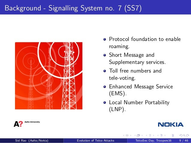 The known unknowns of SS7 and beyond