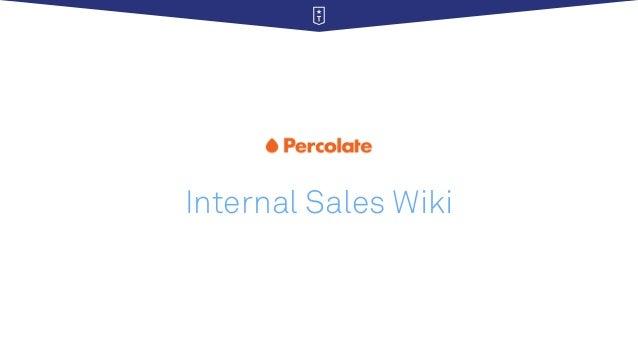 Internal Sales Wiki