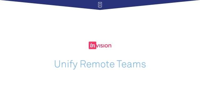 Unify Remote Teams