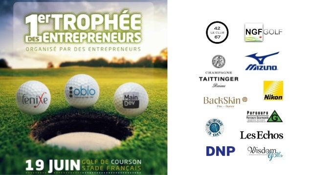 Un concept original et efficace Partant du constat que l'organisation d'un événement Golf dédié à des clients semble aujou...