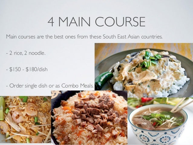 Asian main dishes