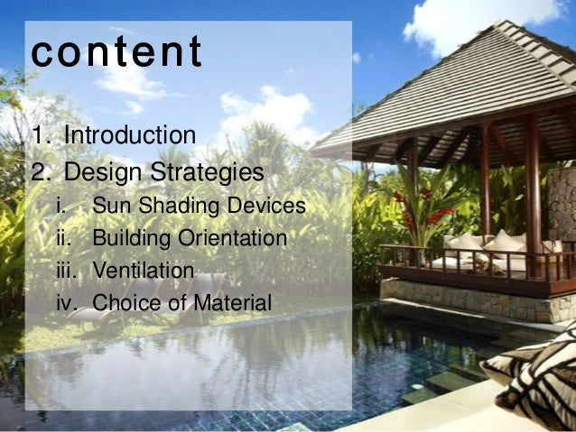 Tropical Architecture Aadi