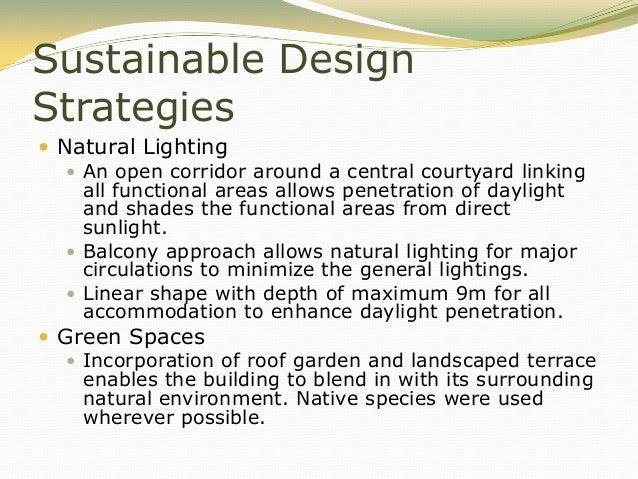 ... 38. Sustainable Design Strategies ...