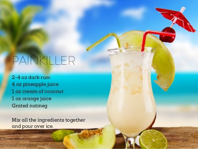 How to make a painkiller drink