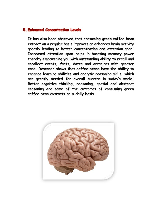 Tropical green coffee 2014 - green coffee bean extract