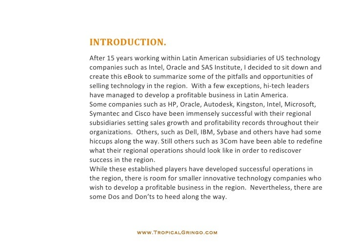 Tropical gringo ebook 10 recommendations for introducing new tech i tropicalgringo 5 fandeluxe Epub