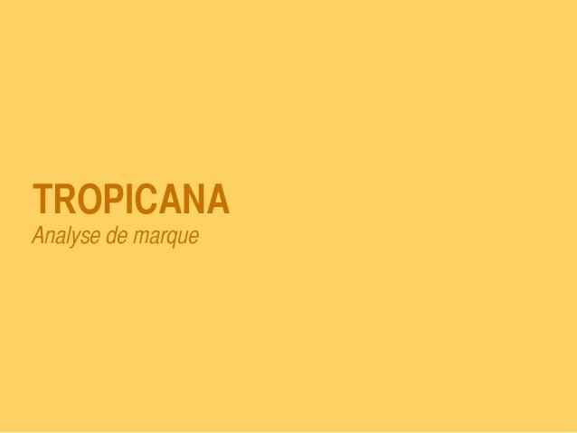 Gamification - Tropicana  Slide 2