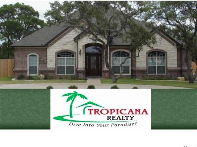 Tropicana Realty is a Real Estate and Property Management Firm in Killeen, Texas. www.tropicanarealtyhomes.net