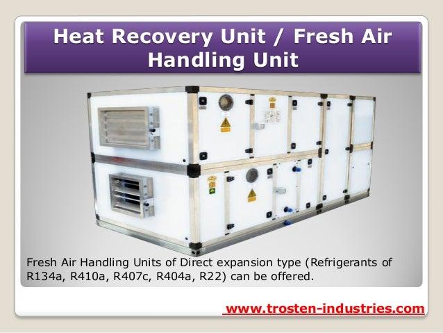Air Handling Unit Air Handling Unit Drain Pan
