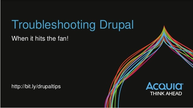 Troubleshooting | Drupal.org