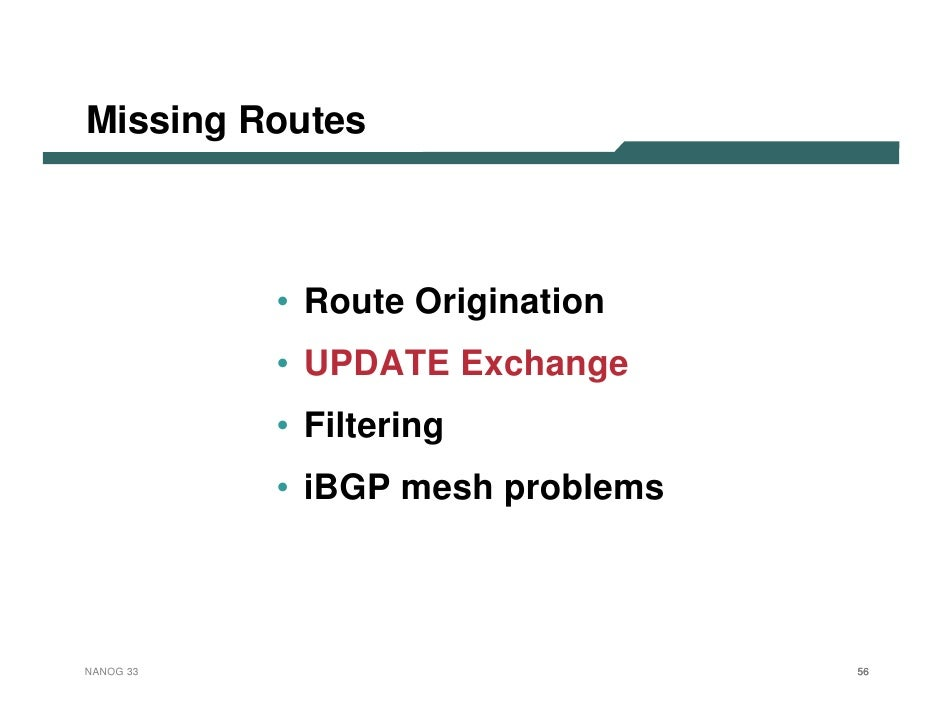Border Gateway Protocol (BGP) troubleshooting: Simple approach