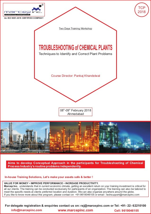 Troubleshooting chemical plants training