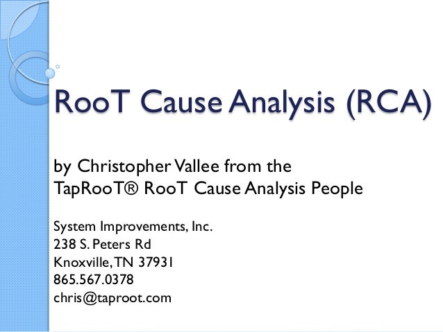equipment troubleshooting or root cause analysis is there a differen