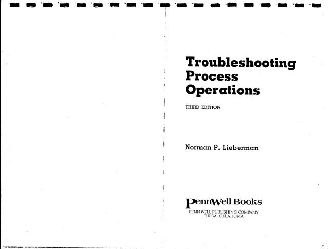 Troubleshooting process operations Slide 3