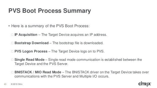 Troubleshooting Provisioning Services Target Boot Processes