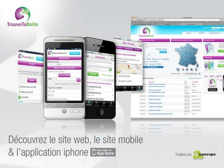 Dispositif Multicanal (Site Web, IPhone