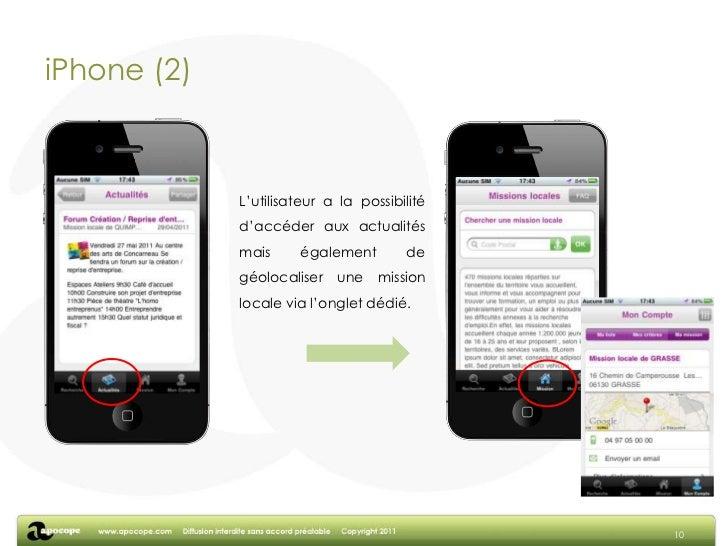 Le support web<br />8<br />Un site internet axé sur la simplicité d'utilisation. L'utilisateur a accès à toutes les foncti...