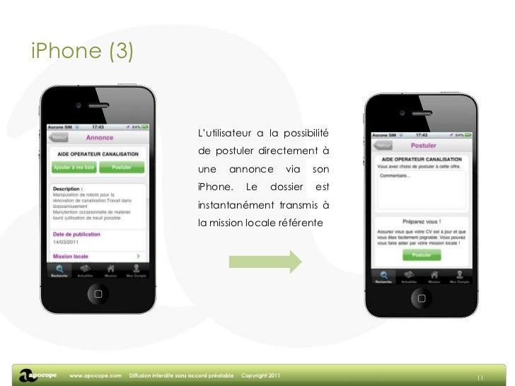 iPhone (1)<br />9<br />Un outil de recherche simple permettant d'effectuer une recherche géographique et/ou par mots-clés....