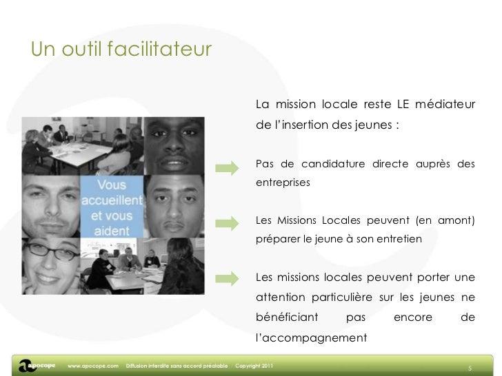 Développer une image positive du travail en entreprise et de la recherche d'emploi</li></li></ul><li>Un accès possible dep...