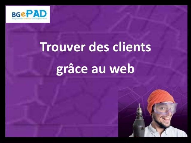 Trouver des clients grâce au web