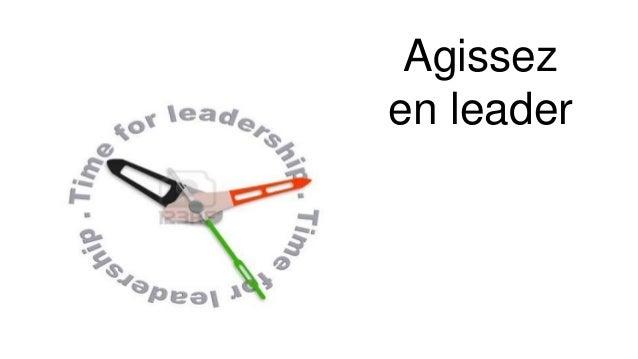 Agissez en leader