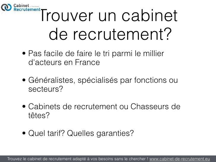 Trouver un cabinet de recrutement - Business plan cabinet de recrutement ...