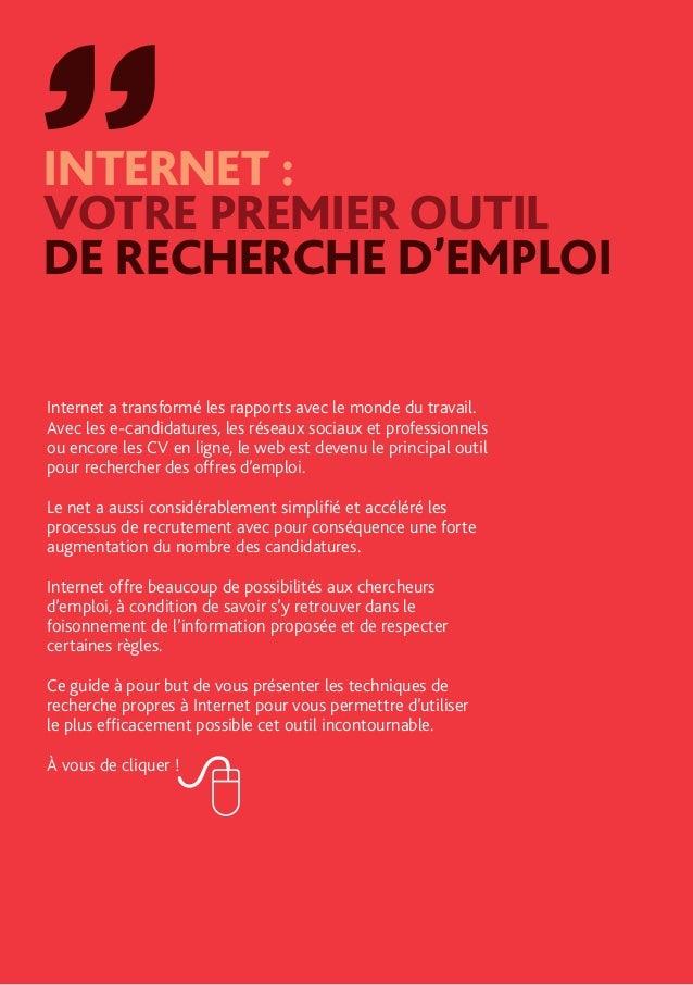 trouver un emploi avec internet