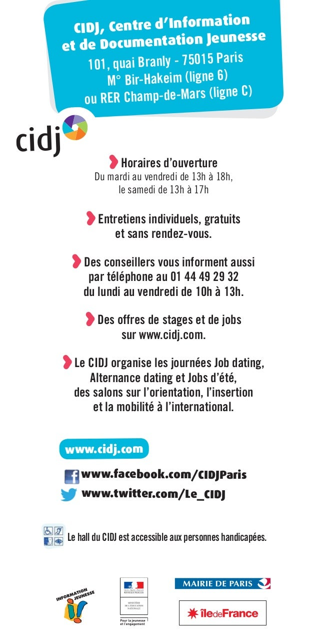 guide trouver un job
